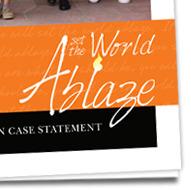 St. Pius X Catholic School - Set the World Ablaze Campaign
